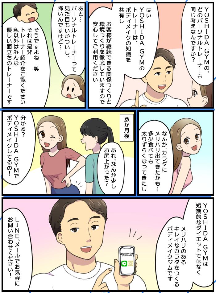 YOSHIDAGYMコミック3